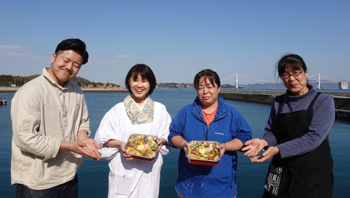 【完売御礼】本島海&山の幸弁当について